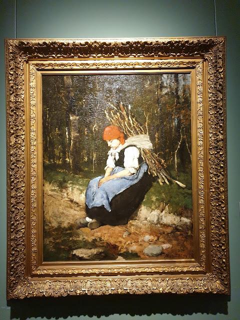 אשה אוספת עצים -מיהאי מונקאצ'י