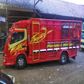 modifikasi truk canter banyuwangi modifikasi truk canter mekar jaya