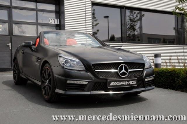 xe Mercedes Benz SLK55 AMG phiên bản Performance Studio 02