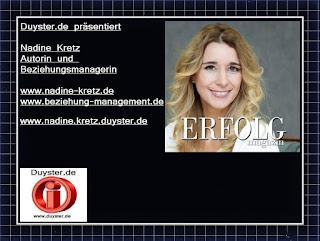 Nadine Kretz - Autorin und Beziehungsmanagerin
