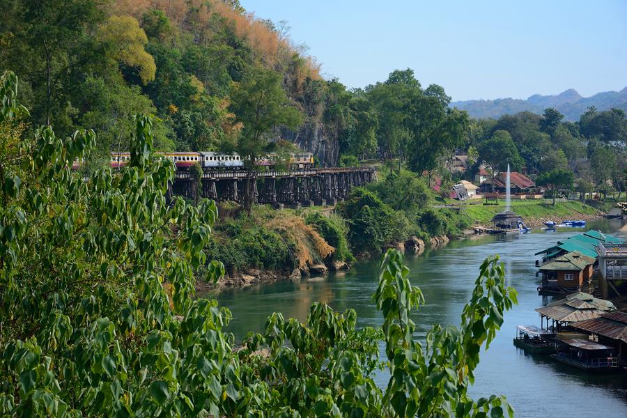 most na rzece kwai w tajlandii