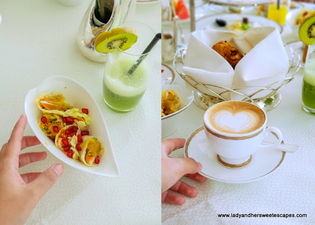 burj al arab healthy breakfast