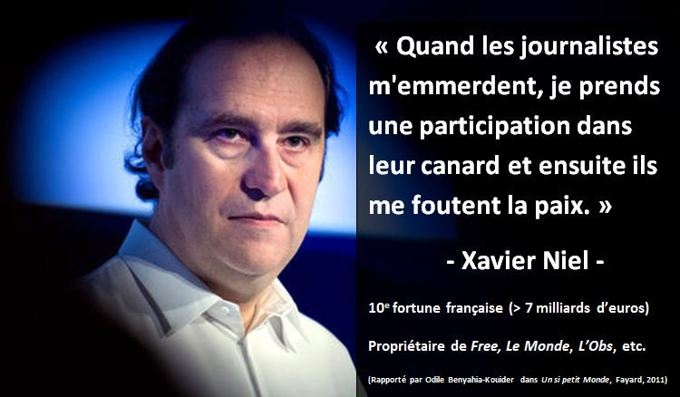 Citation Xavier Niel