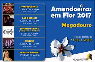 Programa Festa das Amendoeiras em Flor 2017 Mogadouro