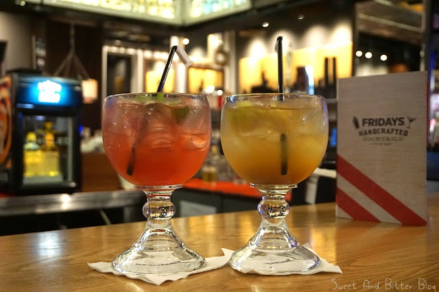 Hand Crafted Cocktails at TGI Friday's