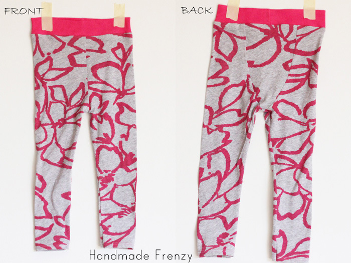 Sewing Patterns: Fancy Pants Leggings