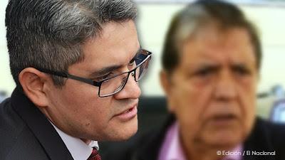 Abren investigación contra fiscales Pérez y Amenabar por muerte de Alan García