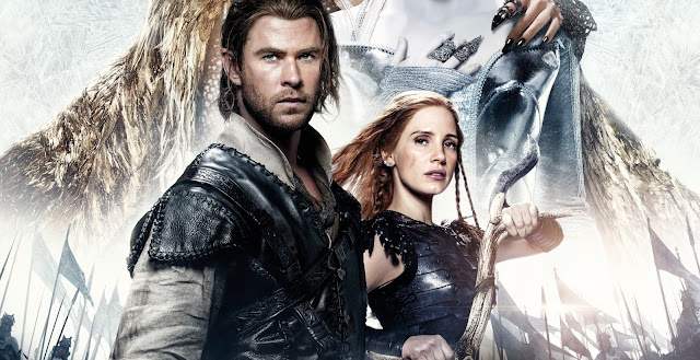 Confira as artes inéditas de O Caçador e a Rainha do Gelo, com Chris Hemsworth e Charlize Theron