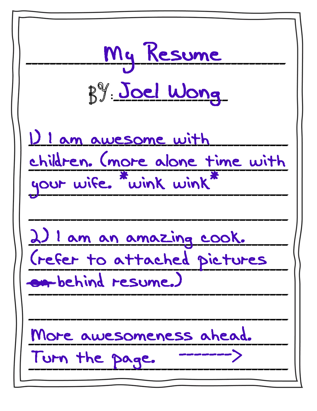 Elegant How To Write A Resume For Dummies