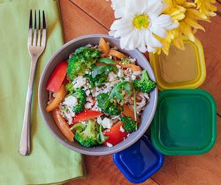 veggie salad, fix salad, fix lunch recipes, fixate cookbook
