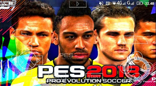 Update Rilis PES 2018 ISO Compress Mod Pacth Texture Savedata For PPSSPP Android/PC