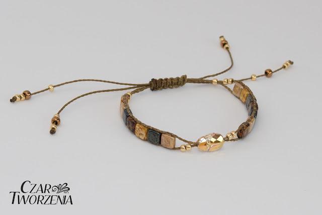 Handmade bransoletka biżuteria wyroby ładne rzeczy przedmioty