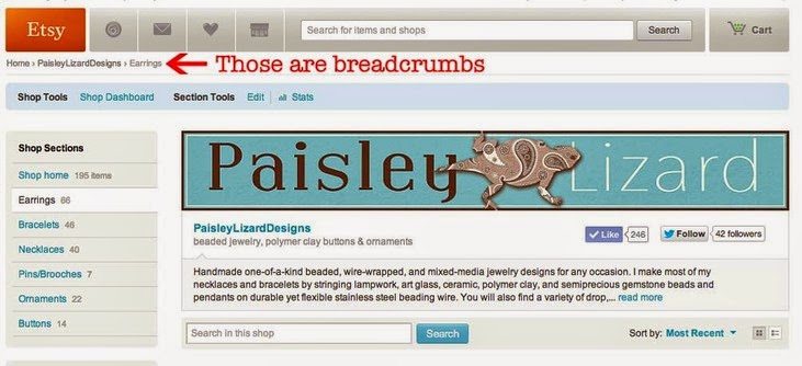 http://www.paisleylizard.com/1/post/2014/02/etsy-quick-tip-faux-breadcrumbs.html