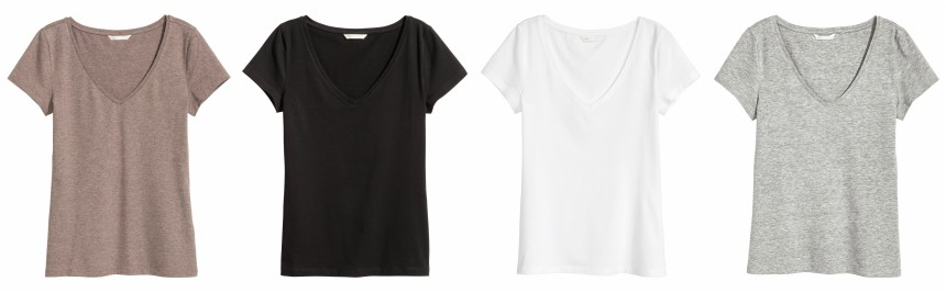 H&M V-Neck Jersey Top $5.40 (reg $6) + free shipping!