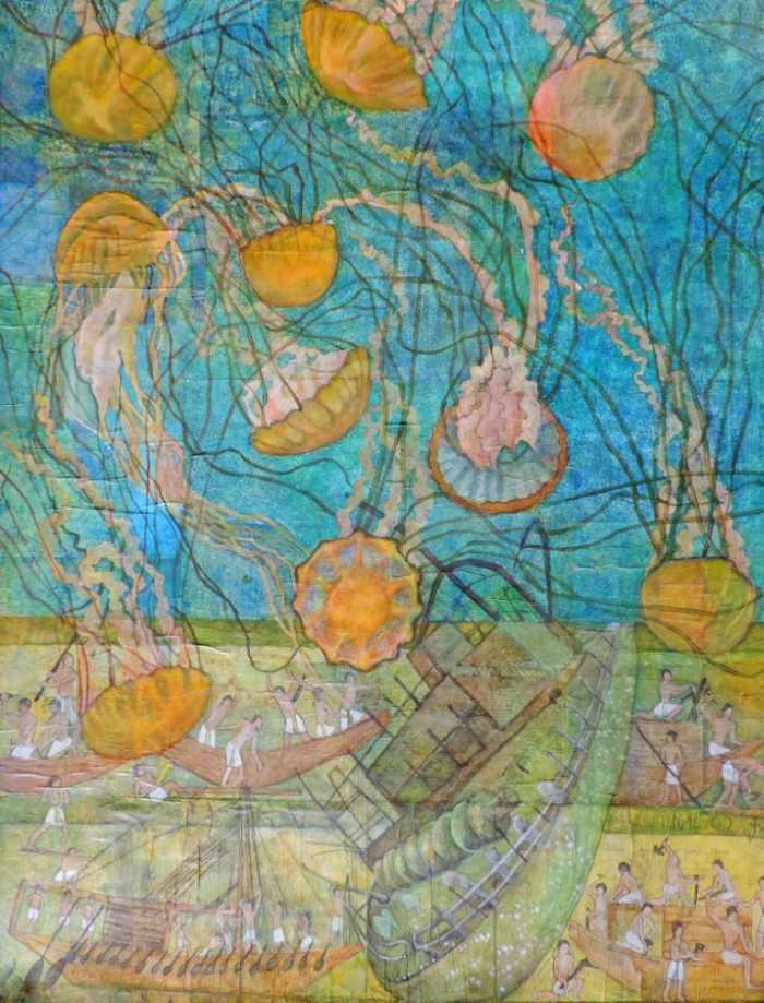 Цвета и линии. Sabrina J Squires
