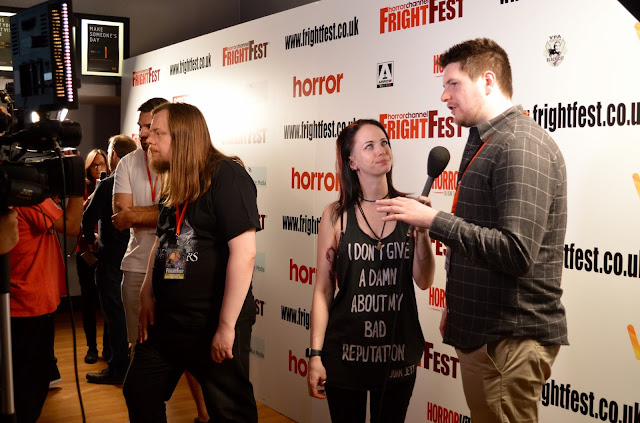 Luna Wolf at FrightFest 2016