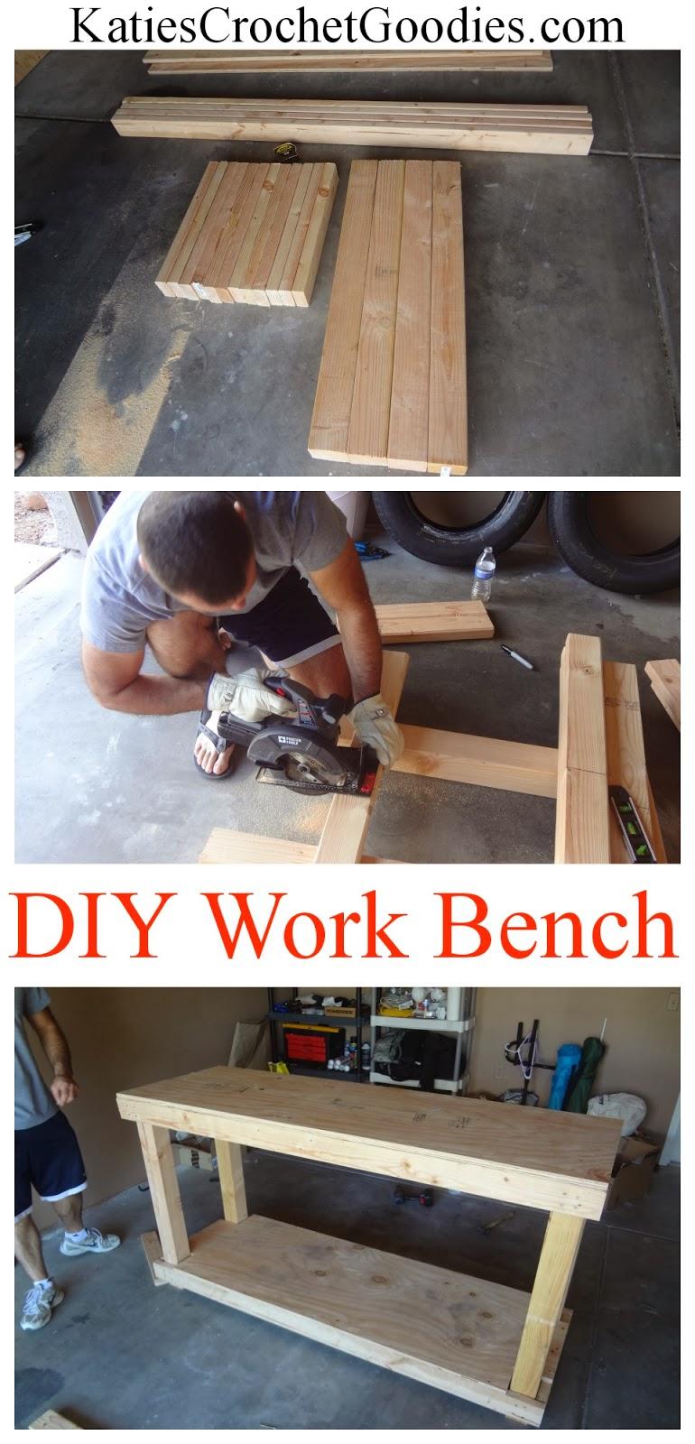 diy work bench tutorial