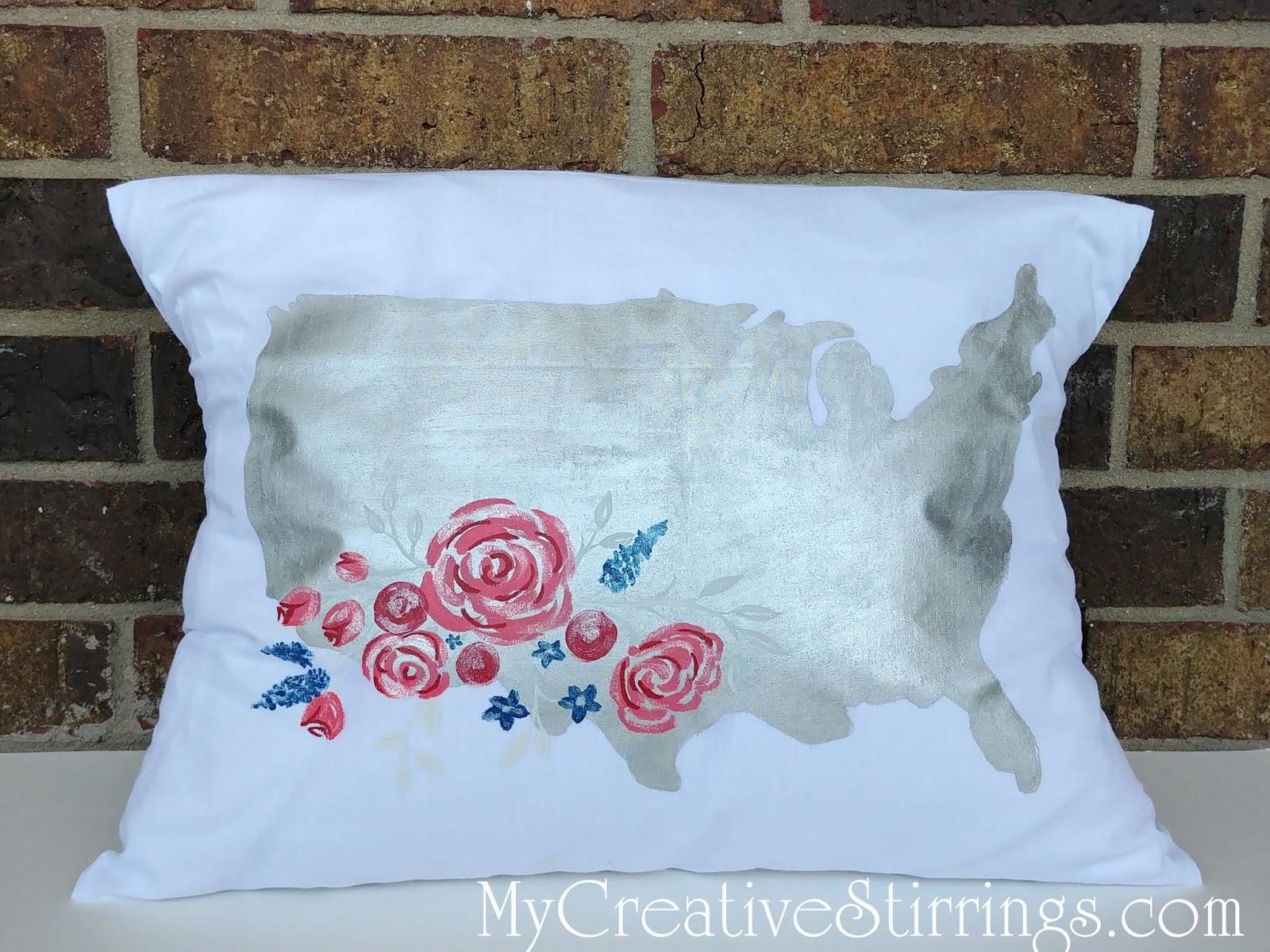 This Pillow Was Not My Original Design I Found A
