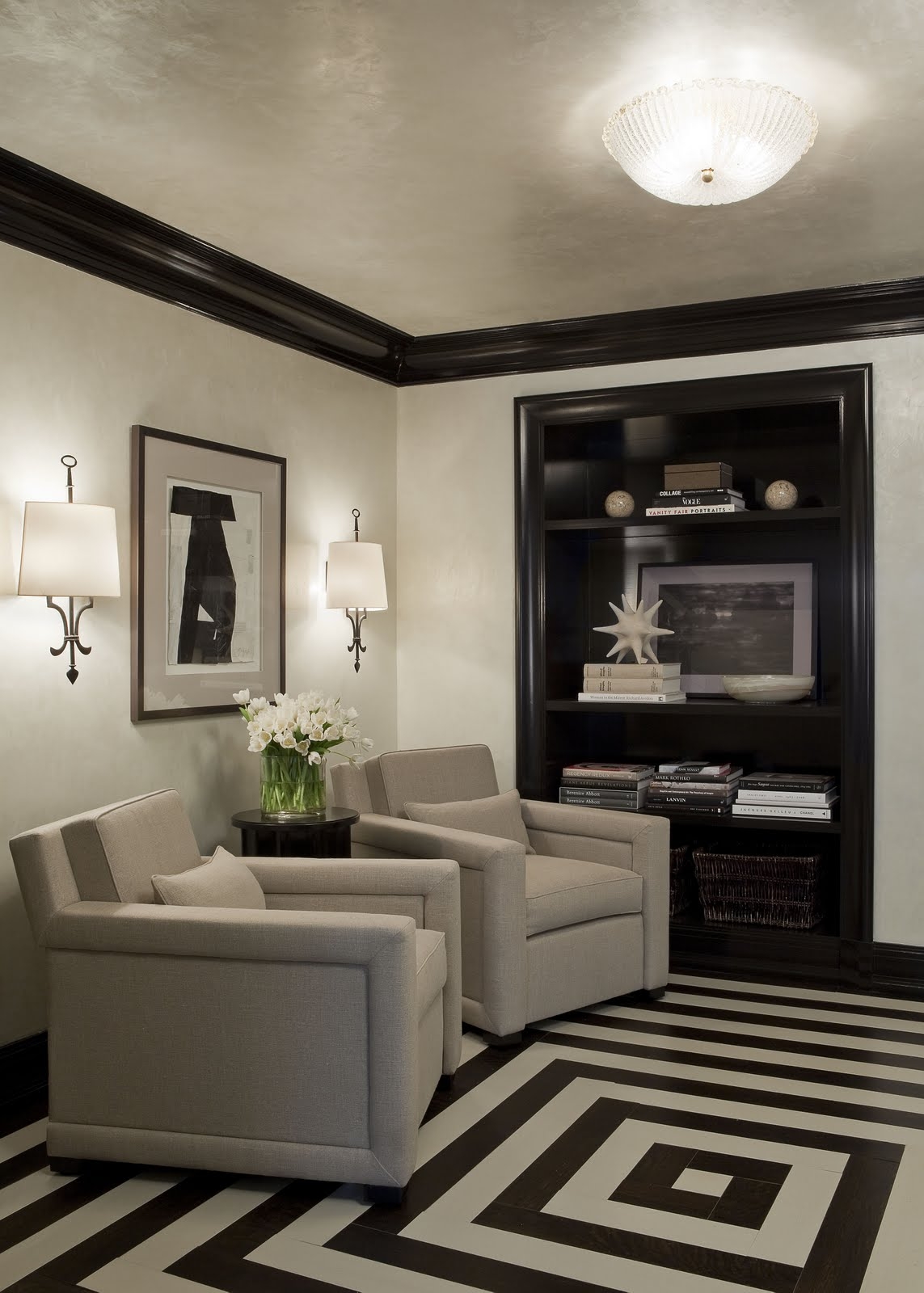 The Detailed Designer Painted Floors The Options Are Endless And The Results Are Fabulous