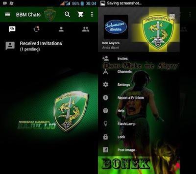 BBM Persebaya MOD V3.0.0.18 Terbaru 2016 By Trangga Ken