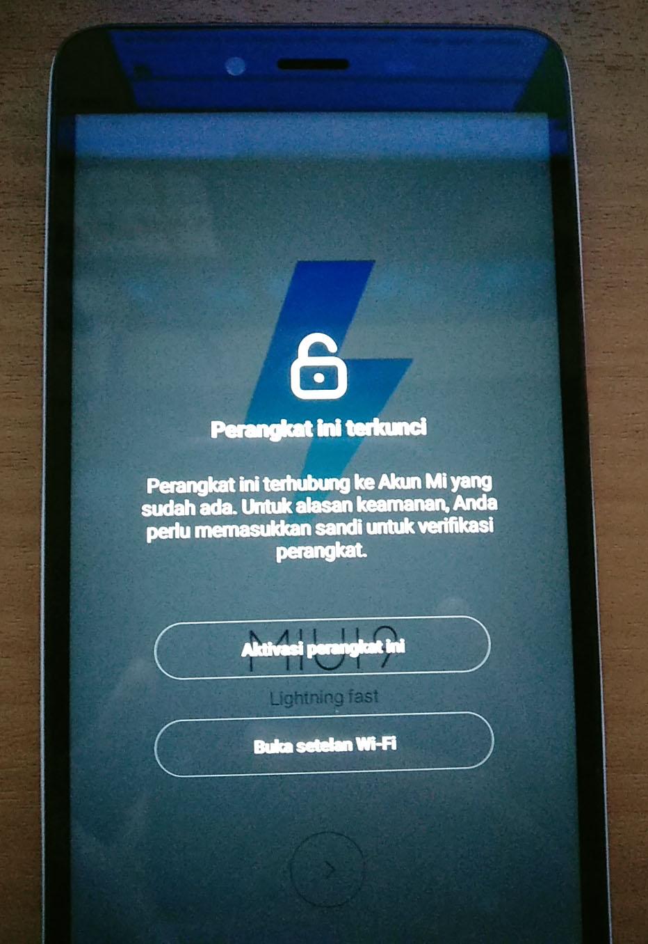 ByPass Mi Akun Redmi Note 2