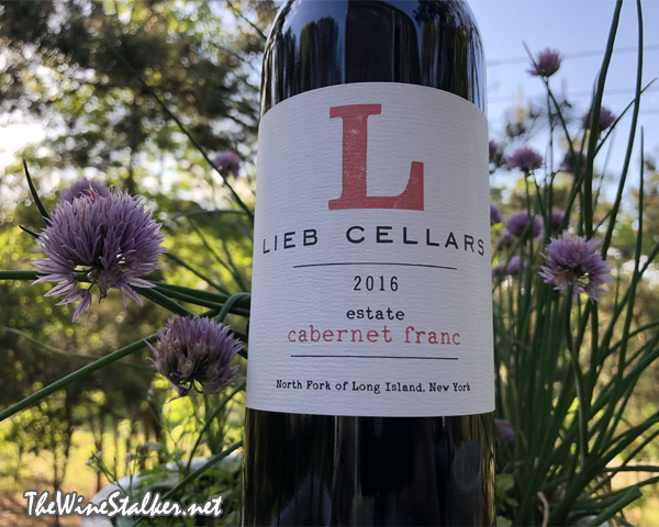 Lieb Cellars Estate Cabernet Franc 2016