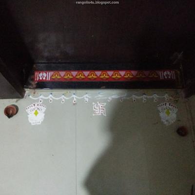 Door Step Rangolis