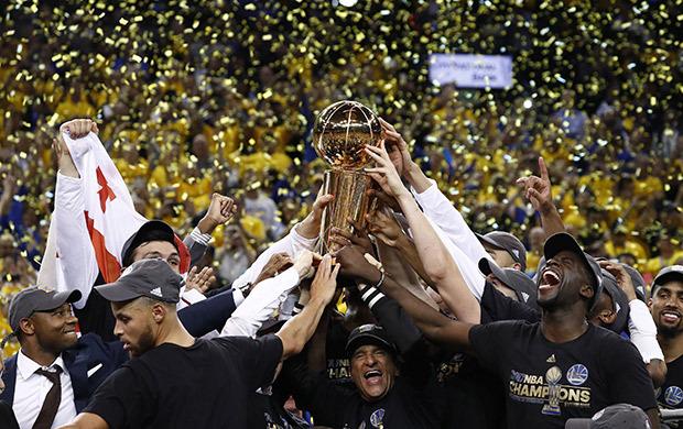 Golden State Warriors se consagra campeão da NBA