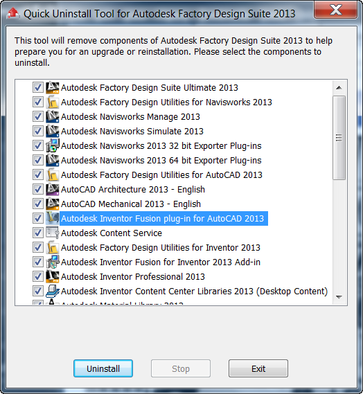 Uninstalling Your Autodesk Design Suite - Did You Know There's a