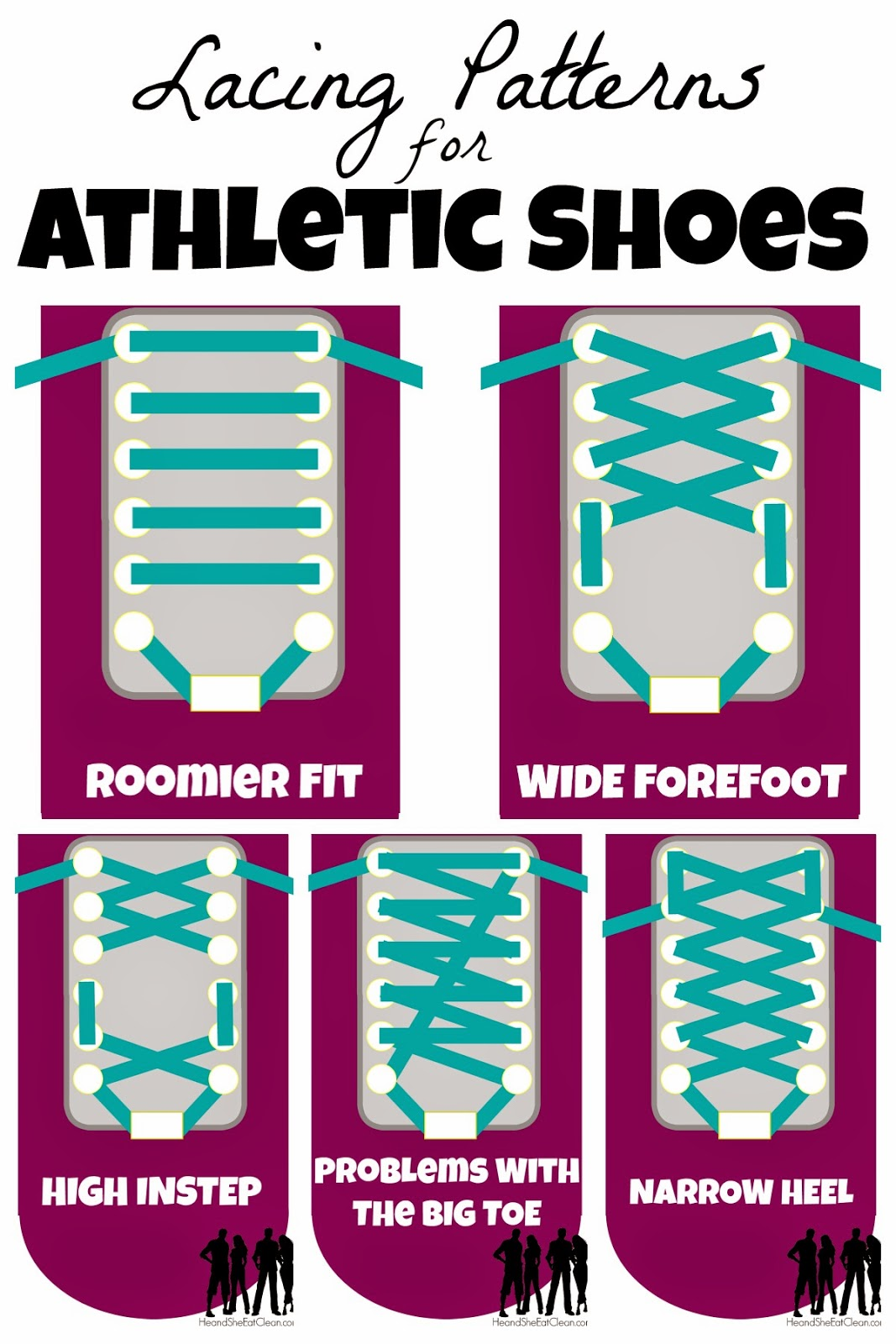 Different Lacing Styles For Running Shoes