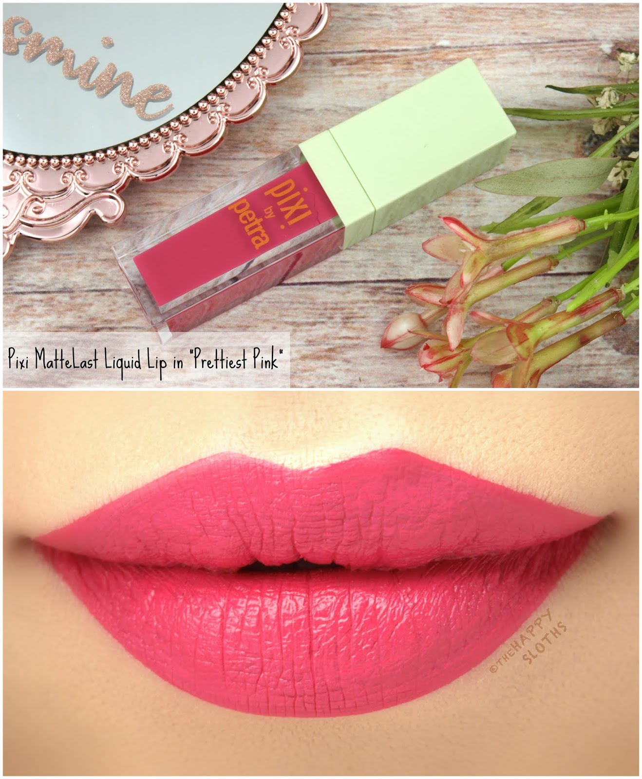 "Pixi | MatteLast Liquid Lip in ""Prettiest Pink"": Review and Swatches"