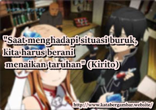 kumpulan gambar kata di anime sword art online