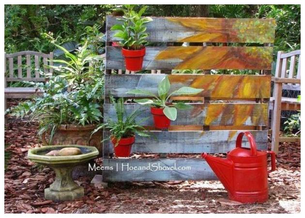 60+ Ξεχωριστές κατασκευές από Παλέτες για Κήπο-Εξοχικά σπίτια