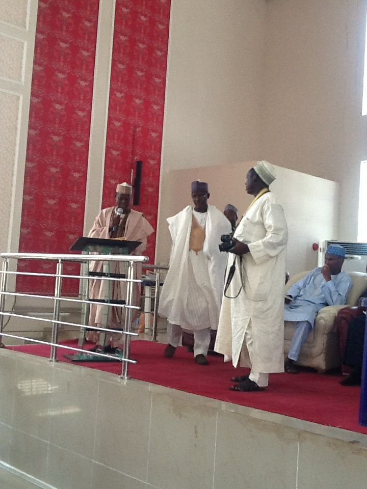 Speech delivered by Engr Haruna Rabiu during inauguration  as new chairman NSE Kano Branch.