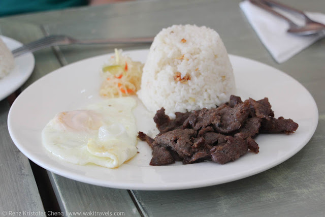 Beef Tapa of Luisa and Daughter