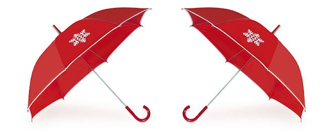 Paraguas - regalo publicitario uso habitual