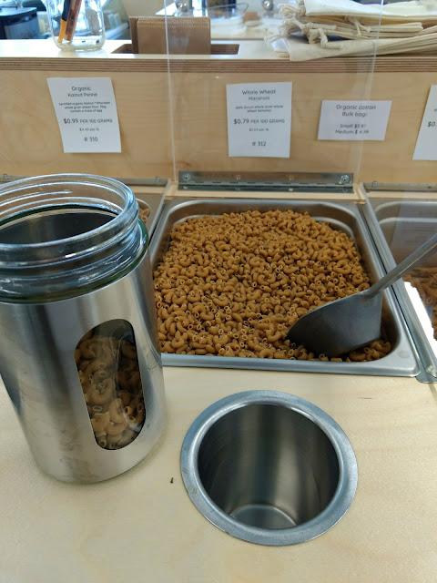 Nu Grocery - Zero-Waste Bulk Bin - Whole Wheat Macaroni