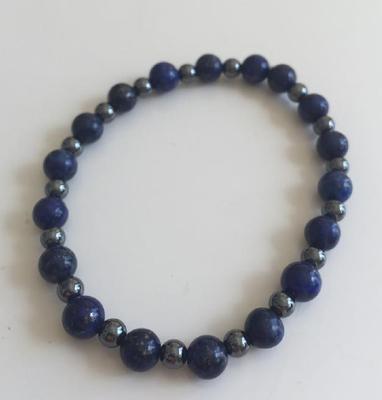 Bracelet en Lapis Lazuli acheté chez Terre! à Caen
