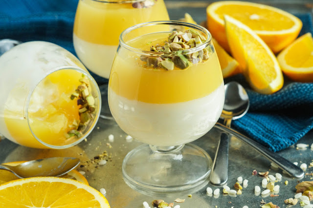 Peeled pistachios or almonds to garnish Roz bi-Haleeb Mbattan (Rice, Milk, and Orange Pudding) Recipe