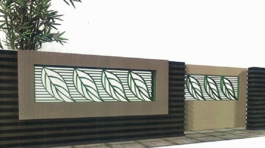60 Desain Pagar Rumah Minimalis Paling Diminati - Rumahku Unik