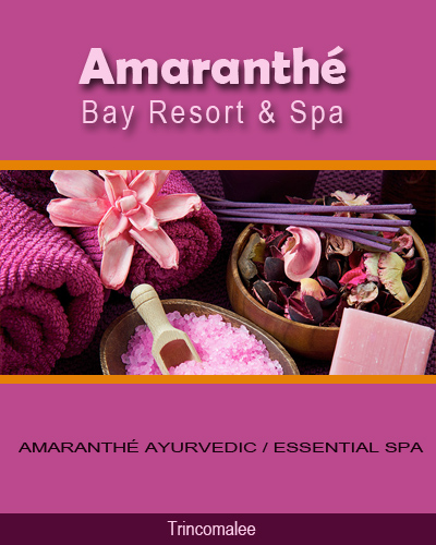 Amaranthé Bay Resort & Spa, Trincomalee
