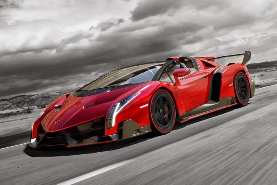 Isaac's blog: Red Lamborghini Veneno Spot color