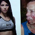 Creep tries to Rob Woman who turns out to be UFC fighter. He should have stayed Home.