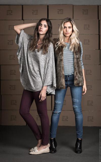 Wupper Jeans otoño invierno 2016. Moda invierno 2016 mujer.