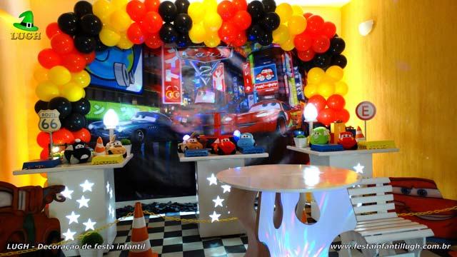 Decoração festa infantil Carros Disney