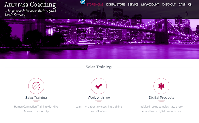 WordPress Aurorasa Coaching