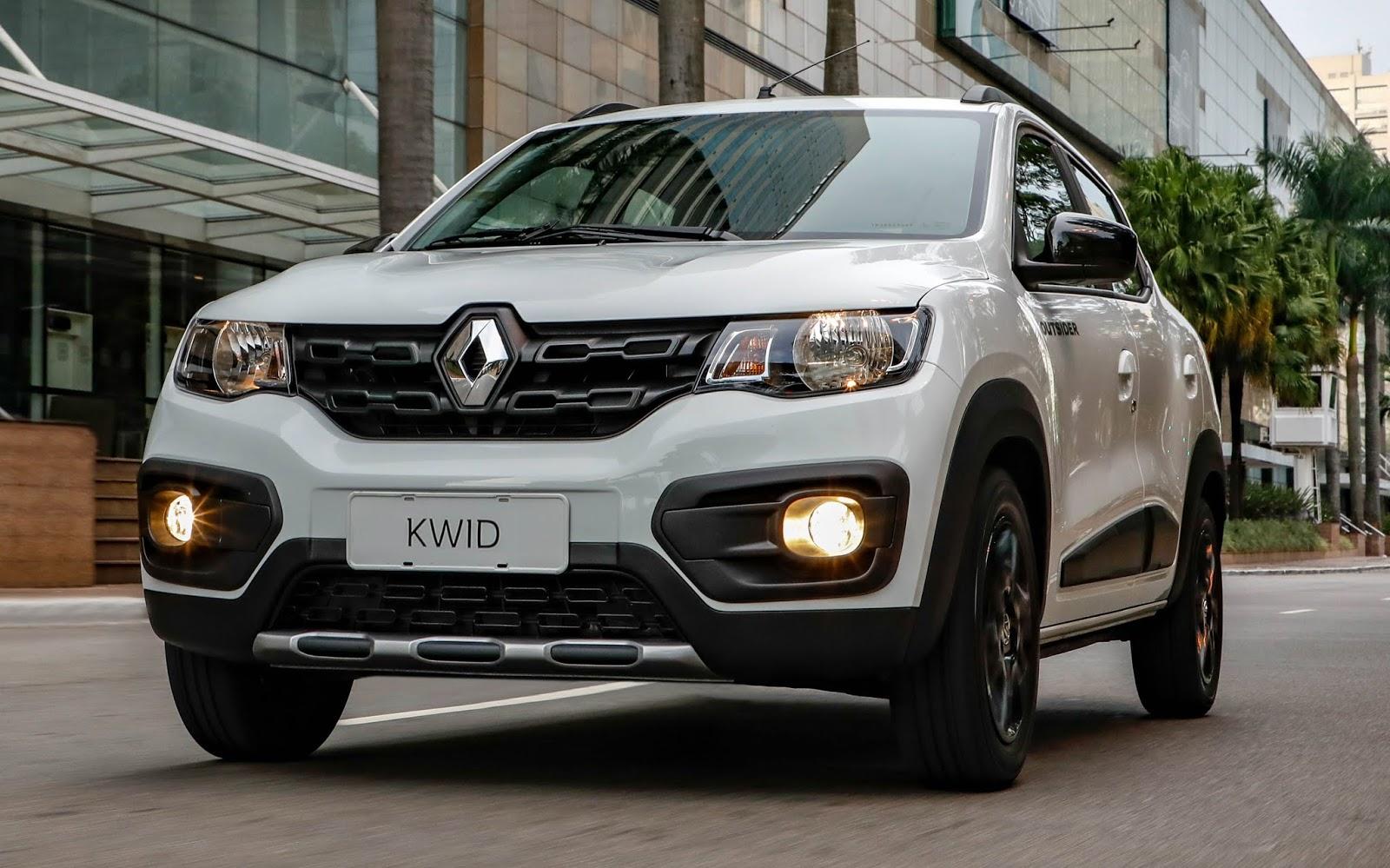 Renault Kwid - 5º carro mais vendido no varejo