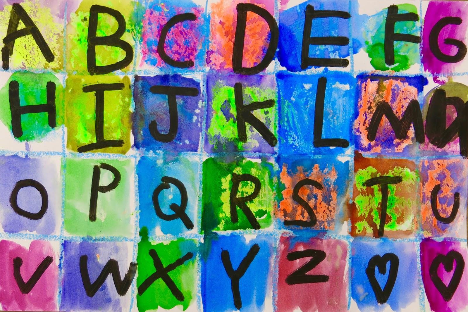 Cassie Stephens In The Art Room Kindergarten Alphabet