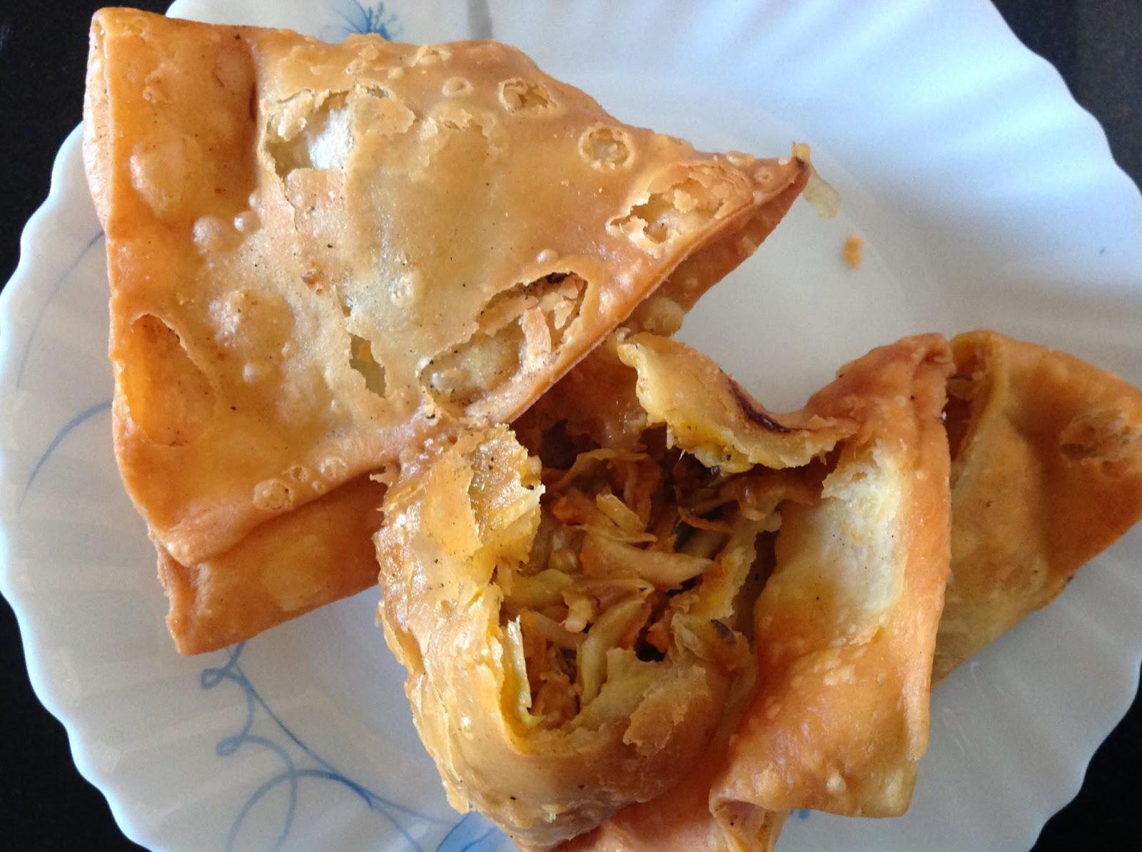 chatak-matak: Chinese Samosa