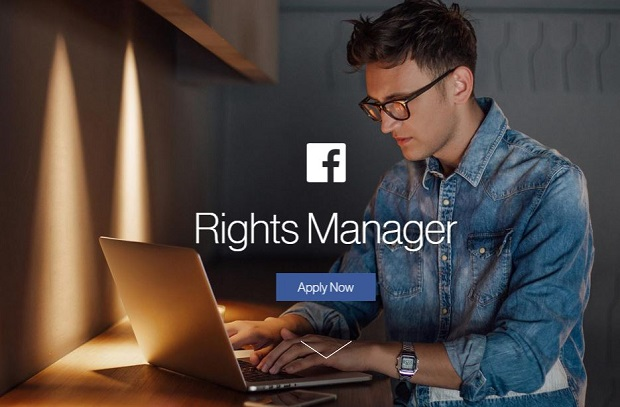 Facebook lance l'outil Rights Manager